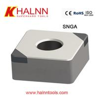 Quality Halnn CBN inserts used for finish turning hardened steel with BN-H10 Grade for sale