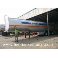 Buy cheap 60000L  three axle transport chemical liquid  fuel tanker trailer petrol tanker from Wholesalers