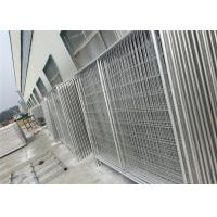 Quality Custom Chain Link Fence Panels , Galvanized Temporary Fencing Anti Aging for sale