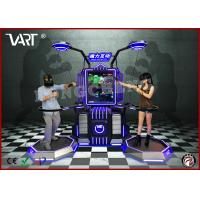 Buy cheap 220 - 380V 2.5 KW Double Seater Interactive VR Simulator with Abundent Immesive from wholesalers