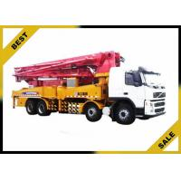 Quality Differentiai Pressure Induction Concrete Boom Pump Truck Low Operation Temperature for sale