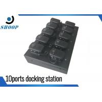 Ten Ports Security Guard Body Docking Station For Camera Police Use