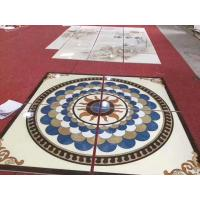 Quality Rectangle Marble Floor Medallions For House Decorative 2.6g / Cm3 Bulk Density for sale