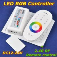 China best quality 2.4G RGB Touch RF Remote Controller for RGB LED Lighting on sale