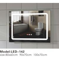 Quality Unusual Touch LED Bathroom Mirror , Illuminated Frame Mirror Variety Sizes for sale