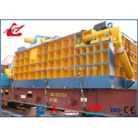 315 Ton Heavy Duty Scrap Metal Baler Equipment For Metal Smelting Plant 22kW for sale