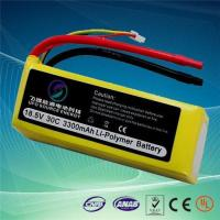 China 18.5v 3300mAh 30c Lipo Battery Pack for RC Toys on sale