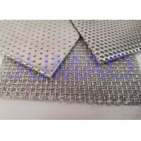 Quality Steady Filter Rating Sintered Wire Mesh Screens High Temperature Resistant for sale