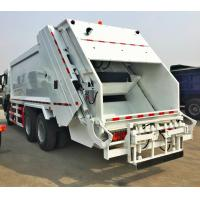 China 20m3 FAW Compressed garbage truck, China Compactor garbage truck on sale