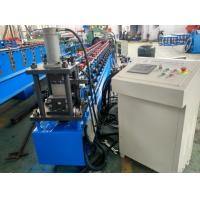 Quality Hydraulic Punching C Channel Cold Roll Forming Machine 3 Ton Manual Decoiler for sale