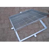 China Hot Dipped Galvanized Steel Grating Perforated Metal Mesh 20mm-150mm Cross Bar Pitch on sale