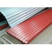 Quality PE / PVDF / SMP Galvanized Steel Sheet , 1000mm Width Pre Painted Steel Sheet for sale