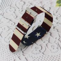 Quality 16mm Nylon Watch Band Fashion Hardware Watch Strap Solid Various Color for sale