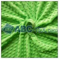 Quality 100% Polyester Dot Minky No MOQ Limited for sale