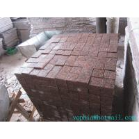 Quality cheapest customer size red paving slabs for garden, street etc for sale