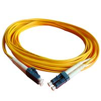 Quality fiber optical cable pvc 2.0 LC-LC MM DX 1m for sale