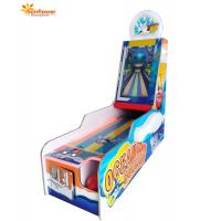 China Amusement Arcade Coin Operated Redemption 1 Player Ocean Bowling Video Game Machine on sale