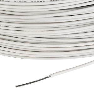 Colorful Teflon Insulated Silver Wire , Teflon Covered Wire OD Tolerance 0.10mm