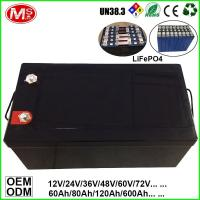 Quality LiFePO4 Battery For Solar Power Energy/UPS/EV/Inverter/Backup Power 12V 100Ah/200Ah for sale