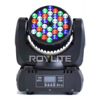 Quality 12 / 13 Channels LED Stage Light , Mac 101 36pcs 3w RGBW LED Light for sale