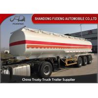 China 45000 L Fuel Tanker Semi Trailer Carbon Steel Transport Crude Oil Tanker Trailer on sale