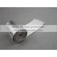 Quality heat reflective aluminum fiberglass sleeve for sale