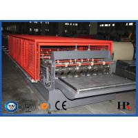 Quality Hydraulic decoiler Metal Deck Roll Forming Machine High Speed 10-12m/min for sale