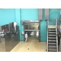Quality CE Industrial High Speed Door Production Line 304 Stainless Steel Door Frame for sale