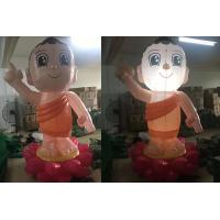 China Buddha Character Balloons Custom Advertising Inflatables Rabbit Decorations on sale