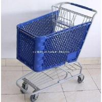 Quality Plastic Shopping Trolley (PSAM-120L) for sale