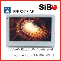 "Wall Mounting 7"" Android POE Powered Touch Screen For User Interface"