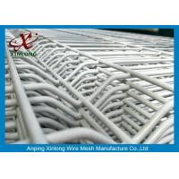 Buy cheap 3D Curved Wire Mesh Fence Welded Fence 200x55mm High Quality Railway Fence from wholesalers