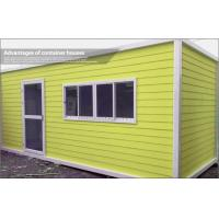 Quality Expandable Prefab Container House with Steel Sheet Roof and EPS Sandwich Wall 50mm for sale