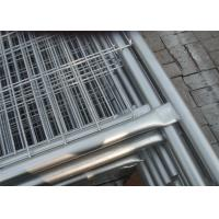 Quality Zinc Coated Galvanized Temporary Fence Construction Fence Panels 22.00kg for sale