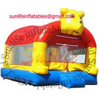 Quality inflatable 0.55mm pvc tarpaulin jumping castle BO034 for sale