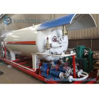 China 30 Cubic ISO Certification Bottling Plant Lpg Filling Plant 30cbm LPG Skid Station on sale