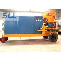 Quality Tunnel Mobile Shot Concrete Machine For 20mm Aggregate High Efficient for sale