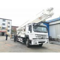 Buy BZC400CHW Truck Mounted Water Well Drilling Machine 400m Drilling Depth Sinotruk Chassis at wholesale prices