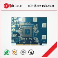 Quality PCB Multilayer Immersion Gold PCB With Half Plated Holes , 1OZ Printed Circuit Board for sale