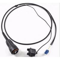 Quality Base Station Waterproof Fiber Optic Patch Cord PDLC Fullaxs SM G657A1 Black Jacket for sale