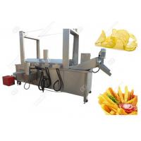 Quality Stainless Steel Potato Chips Frying Machine High Efficiency/Automatic Potato Chips Frying Machine Easy Operate for sale