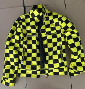 China All over printing design motor waterproof jacket 2018 mens custom motorcycle jacket wholesale on sale