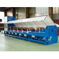 Quality 15kw Straight Line Wire Drawing Machine For Low Carbon Steel Wire OEM Support for sale