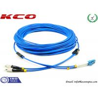 Quality Multimode LC to FC Fiber Optic Patch Cord Duplex Armored Low Insertion Loss for sale