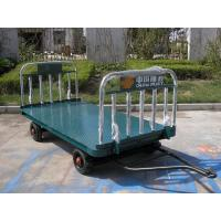 China Blue Airport Luggage Trailer Seamless Steel 42 X 4 mm Tow Bar CE Standard on sale