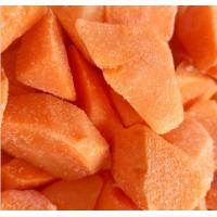 Quality Vitamins Contained Frozen Processed Food , Freezing Fresh Carrots IQF Technology for sale