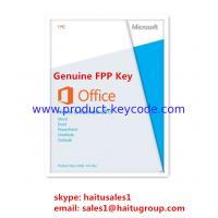 Quality Home / Business Microsoft Office Product Key Code, Genuine Office 2013 FPP key for sale