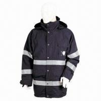 Quality 228T Nylon Taslon-coated PU Waterproof and Breathable Coat for sale