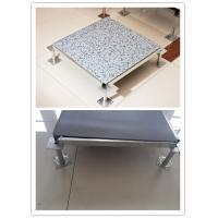 Static Floor Systems : Steel anti static pvc raised access flooring systems