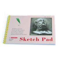 Quality White Paper Pencil Sketch Pad Drawing Book , Spiral Sketch Drawing Pad for sale